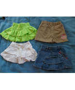 Lot of 4 Little Girls Skirts size 2T Old Navy, ... - $18.81