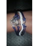 Sailer Oceanic Ancor Blue & White Bracelet New  - $14.99