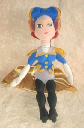 Disney Store Treasure Planet Plush Captain Amelia