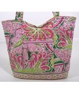 vtg Retired VERA BRADLEY Pinwheel Pink Curvy To... - $26.99