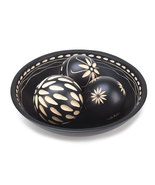 Beautiful Black Decorative Wood Balls With Deta... - $24.00