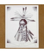 Limited Edition Native American Warpainted Indi... - $49.97