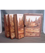 Boxed Set of Three Photo Albums 4 x6 Italian Tu... - $5.99