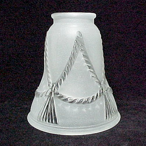 Rope N Tassel Bell 2 1/4 Western Light Shade Ceiling Fan Chandelier Wall Sconce