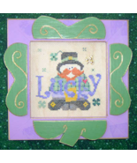 CLEARANCE Lucky cross stitch chart charms Mt Fo... - $3.00