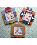 CLEARANCE Fall Alphabet ABC,DEF,GHI stitch char... - $3.00