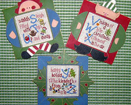 CLEARANCE Winter Alphabet STU VWX YZ stitch cha... - $3.00