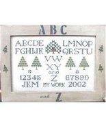 CLEARANCE ABC and Z cross stitch chart Poppy Kr... - $3.00