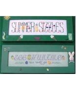CLEARANCE Seasonal Samplings II cross stitch ch... - $3.00
