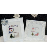 CLERACNE January Squares OOP cross stitch chart... - $3.00