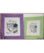 CLEARANCE May Squares OOP cross stitch chart Fo... - $3.00
