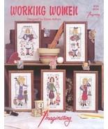 CLEARANCE Working Women cross stitch chart Imag... - $3.00