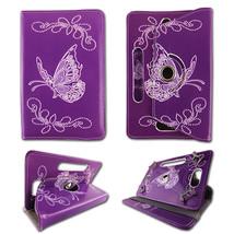Purple Butterfly For Kindle Fire HD 7