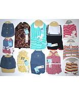WHOLESALE LOT 11 DOG CLOTHES ANIMAL PET CLOTHING RESALE - $14.99