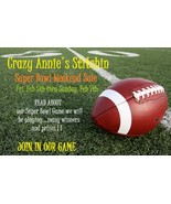 SUPER BOWL SALE is on ends Sunday Feb 7th midni... - $0.00