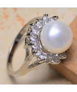 SPELLS MAGICK REAL NATURAL PEARL  SILVER PLATED... - $295.00