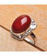 RED JASPER STELING SILVER RING 7 BRING  HIM BAC... - $170.00