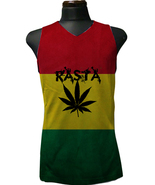 Rasta Reggae Africa Color Cannabis Color Men's ... - $19.50 - $26.99