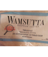 SHEETS TWIN J C PENNY SPRINGMAID WAMSUTTA 100% ... - $10.00