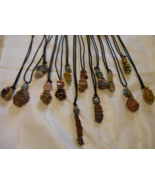 Handcrafted Custom Made Wire Wrapped Gemstone A... - $11.99