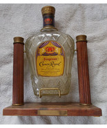 Vtg 1968 Crown Royal Bottle and Swing Holder Po... - $49.45