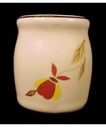 1995 Hall China Autumn Leaf Toothpick Holder NA... - $29.95