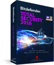 Bitdefender total security 1 year 3 pc - $19.99