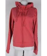 LULULEMON Full Zip Hoodie Jacket 10 M Pink Cott... - $34.99