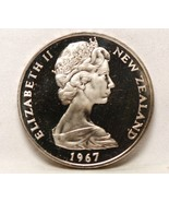 New Zealand, 1967 Dollar, Proof Like           ... - $12.30