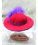 Dritz RED HAT SOCIETY ladies PIN cushion COLLEC... - $7.00