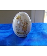 Holly Hobbie Collectors Egg 1973 Love is the li... - $5.99