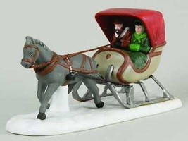 One Horse Open Sleigh-Heritage Village-Dept 56 - $23.36