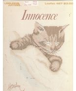 Innocence Sweet Cat Pictures Cross Stitch Patte... - $5.99