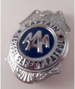 Vintage AAA Captain School Safety Patrol Badge ... - $30.00