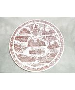 Collector Plate Indiana by Vernon Kilns with St... - $23.99