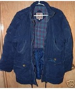 ANNEX Navy Cotton Winter Jacket SZ M  - $22.99