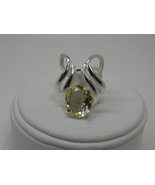 New Sterling Silver Slide Pendant 12x10mm Oval ... - $25.00