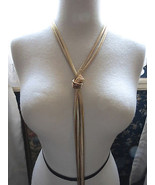 INC International Concepts Gold Tone Knotted Ne... - $19.78