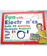 Fun with Electronics build 20 Amazing Electric ... - $5.99