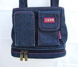 MUDD Hipster Denim Purse, Shoulder Bag Great Or... - $16.98