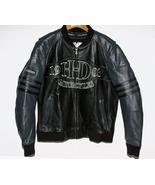 Harley Davidson Leather Bomber Jacket Black and... - $299.00