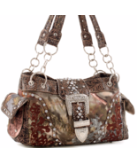 Concealed Carry Camo w/ Embroidery Western Satc... - $49.99