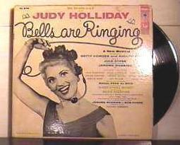 "LP ""Bells Are Ringing"" Judy Holliday 1956"