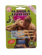 Mamba Is Hero Triple Maximum Male Enhancement P... - $23.50