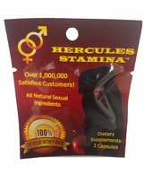 NEW Hercules Stamina All Natural Sexual Male En... - $19.99