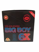 Big Boy 6X Triple Maximum Male Enhancement Sex ... - $119.99