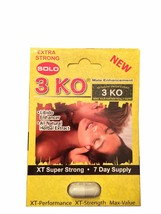 3 KO Solo Extra Strong Male Libidio Enhancer Se... - $49.99