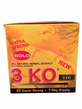 3 KO Solo Extra Strong Male Libidio Enhancer Se... - $79.99