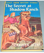 Nancy Drew #5 Secret at Shadow Ranch Orig Text PC - $7.99