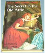 Nancy Drew #21 Secret in the Old Attic Orig Tex... - $9.99